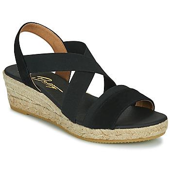 Schoenen Dames Sandalen / Open schoenen Betty London OLINDR Zwart