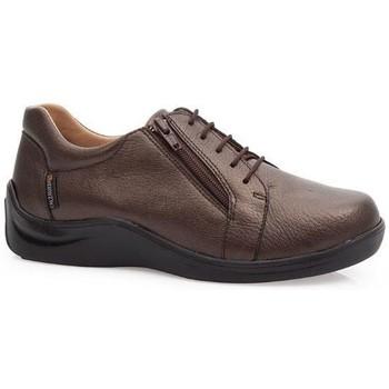 Schoenen Dames Derby & Klassiek Calzamedi SCHOENEN  DIABETIC 0749 MARRON
