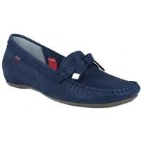 Schoenen Dames Mocassins CallagHan 12022 Dance Zapatos de Mujer Blauw
