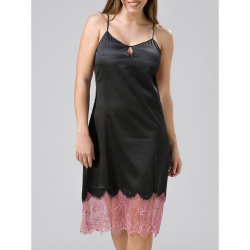 Textiel Dames Pyjama's / nachthemden Luna Babydoll Cabaret Parelmoer Zwart