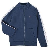 Textiel Jongens Sweaters / Sweatshirts Tommy Hilfiger  Marine