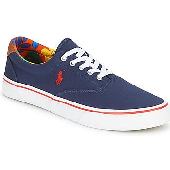 Schoenen Heren Lage sneakers Polo Ralph Lauren THORTON-SNEAKERS-VULC Marine