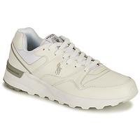 Schoenen Heren Lage sneakers Polo Ralph Lauren TRCKSTR PONY-SNEAKERS-ATHLETIC SHOE Wit