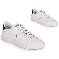 Schoenen Lage sneakers Polo Ralph Lauren HRT CT II-SNEAKERS-ATHLETIC SHOE Wit / Zwart