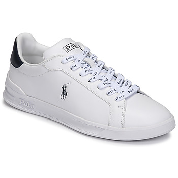 Schoenen Lage sneakers Polo Ralph Lauren HRT CT II-SNEAKERS-ATHLETIC SHOE Wit / Marine