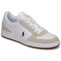 Schoenen Heren Lage sneakers Polo Ralph Lauren POLO CRT PP-SNEAKERS-ATHLETIC SHOE Wit
