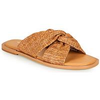 Schoenen Dames Leren slippers Vanessa Wu SD2223CM Bruin