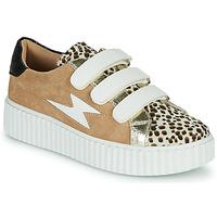 Schoenen Dames Lage sneakers Vanessa Wu BK2206LP Beige / Luipaard