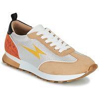 Schoenen Dames Lage sneakers Vanessa Wu BK2268BG Beige / Geel / Oranje