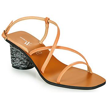 Schoenen Dames Sandalen / Open schoenen Vanessa Wu SD2226SM Oranje