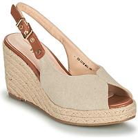 Schoenen Dames Sandalen / Open schoenen Vanessa Wu SD2238BG Beige / Bruin