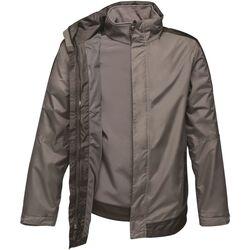 Textiel Heren Jacks / Blazers Regatta  Afdichting Grijs/Zwart