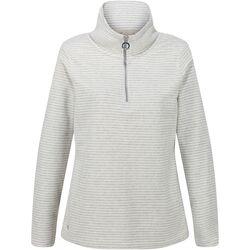 Textiel Dames Fleece Regatta Solenne Licht vanille/zilver