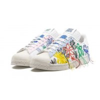 Schoenen Lage sneakers adidas Originals Superstar x Sean Wotherspoon White/Off-White