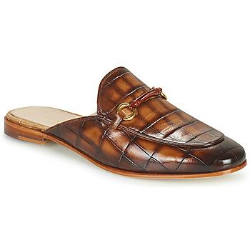 Schoenen Dames Leren slippers Melvin & Hamilton SCARLETT 4 Bruin