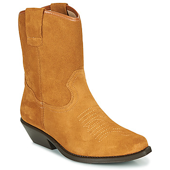 Schoenen Dames Hoge laarzen Betty London OSONGE Cognac