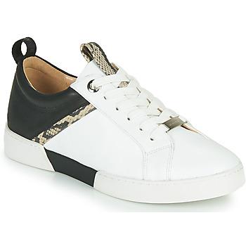 Schoenen Dames Lage sneakers JB Martin GELATO Wit / Zwart
