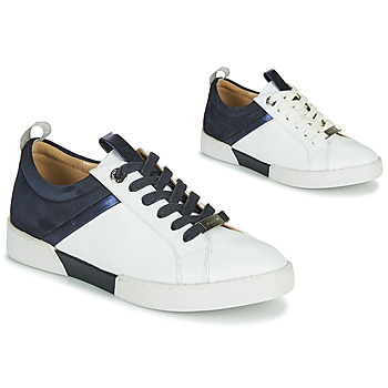 Schoenen Dames Lage sneakers JB Martin GELATO Wit / Marine