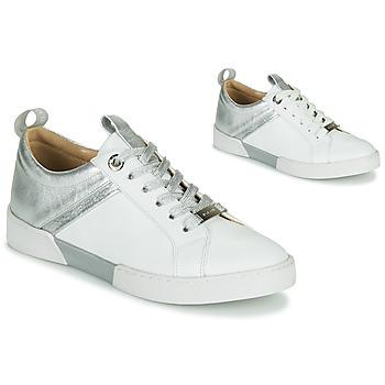 Schoenen Dames Lage sneakers JB Martin GELATO Wit / Zilver