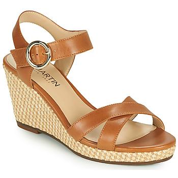 Schoenen Dames Sandalen / Open schoenen JB Martin QUERIDA Bruin