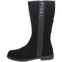 Schoenen Meisjes Hoge laarzen Pinko Up 025278 Black