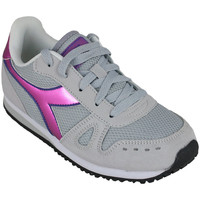 Schoenen Meisjes Running / trail Diadora simple run gs girl 65010 Roze