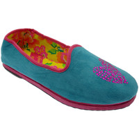 Schoenen Dames Sloffen De Fonseca DEFONFIUACCazz blu