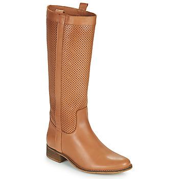 Schoenen Dames Hoge laarzen Betty London ONEVER Cognac