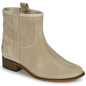 Schoenen Dames Laarzen Betty London OSEILAN Beige