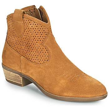 Schoenen Dames Laarzen Betty London OGEMMA Cognac