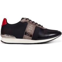 Schoenen Heren Lage sneakers Ed Hardy - Mono runner-metallic black/gunmetal Zwart