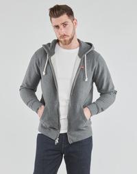 Textiel Heren Sweaters / Sweatshirts Levi's NEW ORIGINAL ZIP UP Grijs