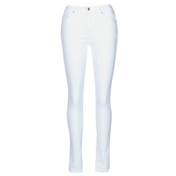Textiel Dames Skinny Jeans Levi's 721 HIGH RISE SKINNY Wit