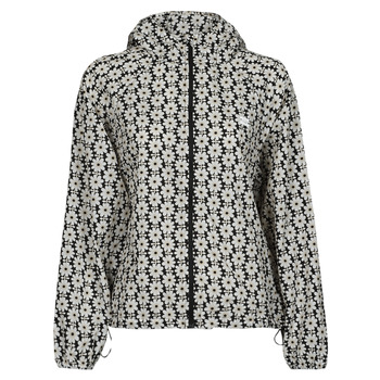Textiel Dames Windjack Levi's LINA PACKABLE WINDBRKR Beige / Wit / Zwart