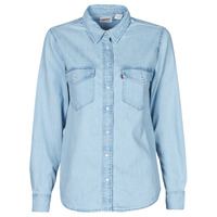 Textiel Dames Overhemden Levi's ESSENTIAL WESTERN Cool / Out