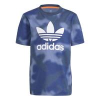 Textiel Jongens T-shirts korte mouwen adidas Originals GN4119 Blauw
