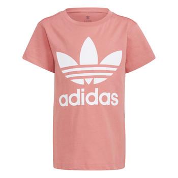 Textiel Kinderen T-shirts korte mouwen adidas Originals GN8205 Wit