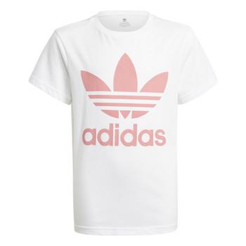 Textiel Kinderen T-shirts korte mouwen adidas Originals GN8213 Wit