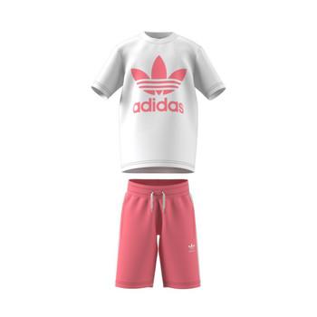 Textiel Kinderen Setjes adidas Originals GP0195 Wit