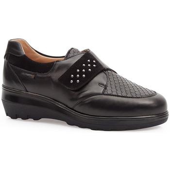 Schoenen Dames Derby & Klassiek Calzamedi ELASTISCHE SCHOENEN  0745 NEGRO