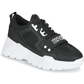 Schoenen Heren Lage sneakers Versace Jeans Couture THANNA Zwart