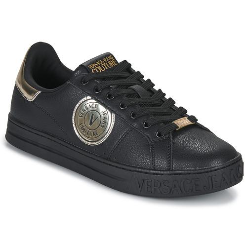 Schoenen Heren Lage sneakers Versace Jeans Couture MANAKI Zwart