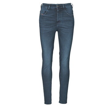 Textiel Dames Skinny Jeans Diesel D-SLANDY-HIGH Blauw