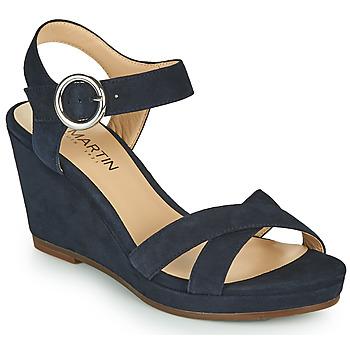 Schoenen Dames Sandalen / Open schoenen JB Martin QUERIDA Marine