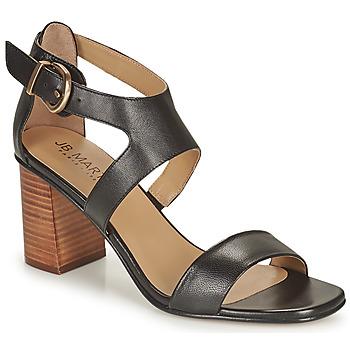 Schoenen Meisjes Sandalen / Open schoenen JB Martin 1NAWELI Zwart