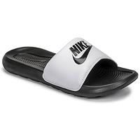 Schoenen Heren slippers Nike VICTORI BENASSI Zwart / Wit