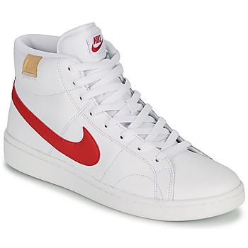 Schoenen Heren Lage sneakers Nike COURT ROYALE 2 MID Wit / Rood