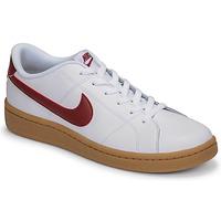 Schoenen Heren Lage sneakers Nike COURT ROYALE 2 LOW Wit / Rood
