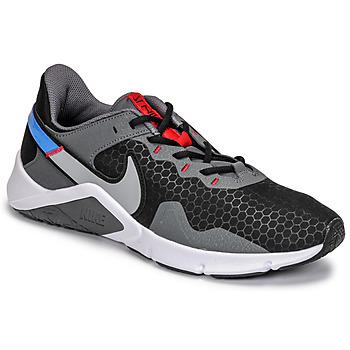 Schoenen Heren Allround Nike LEGEND ESSENTIAL 2 Grijs / Blauw