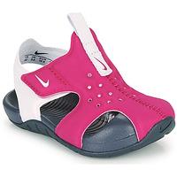Schoenen Meisjes slippers Nike SUNRAY PROTECT 2 TD Violet